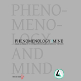 PHENOMENOLOGY AND MIND. The Online Journal of the Vita-Salute San Raffaele University Research Centre of Phenomenology and Sciences of the Person