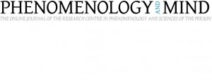 "The fifth issue of Phenomenology and Mind, ""The Place of Values in a World of Norms"", is now on-line!"