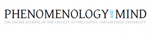 "The seventh issue of Phenomenology and Mind, ""Naturalism, the First-Person Perspective and the Embodied Mind"", is now on-line!"