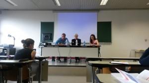 Zachary Davis, Joachim Fischer and Sophie Adler