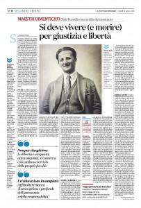 """""""MAESTRI DIMENTICATI Carlo Rosselli e la sconfitta del marxismo"""" – di Maurizio Viroli"""