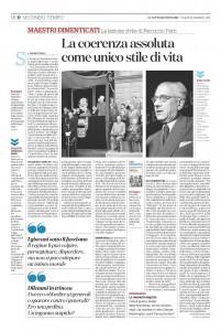 """""""La coerenza assoluta come unico stile di vita"""" – di Maurizio Viroli"""