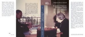 Margherita Pieracci Harwell – Libreria Utopia, Sabato 18 Novembre