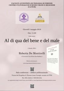 Al di qua del bene e del male – Roberta De Monticelli, 3 maggio
