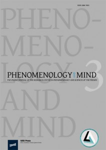 "The third issue of Phenomenology and Mind Journal, ""Norms, Values, Society: Phenomenological and Ontological Approaches"", is on line!"