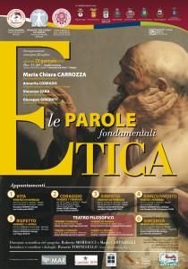 ETICA – Le parole fondamentali. Il prossimo appuntamento Venerdì 28 Marzo 2014, Maglie-Lecce