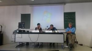 Roberta Guccinelli, Wai Zhang e Zachary Davis