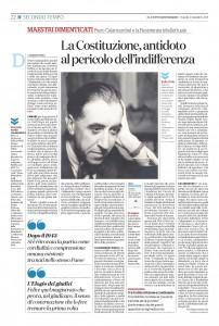 """""""La Costituzione, antidoto al pericolo dell'indifferenza"""" – di Maurizio Viroli"""