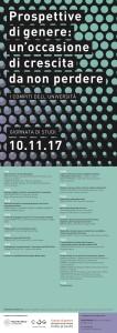 Prospettive di genere: un'occasione di crescita da non perdere – Giornata di studi, 10 Novembre, Milano