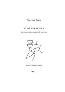 In ricordo di Giovanni Piana: Filosofia della Matematica