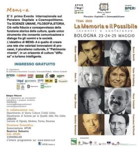 La Memoria e il Possibile – Bologna, 23-24-25 Maggio