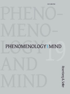 "New issue of Phenomenology and Mind! ""Human Reproduction and Parental Responsibility: New Theories, Narratives, Ethics"""